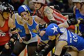 20130831 Roller Derby Comic Slams v Brutal Pageant