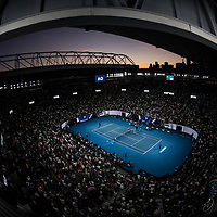 A wide view of Rod Laver Arena on day nine of the 2018 Australian Open in Melbourne Australia on Tuesday January 23, 2018.<br /> (Ben Solomon/Tennis Australia)