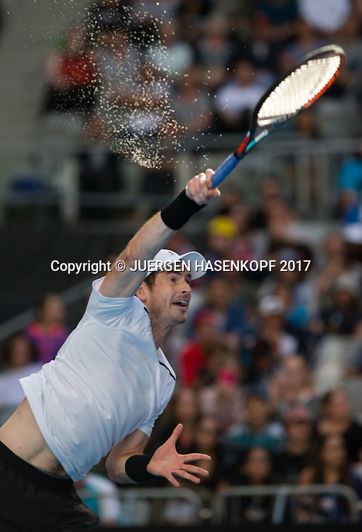 ANDY MURRAY (GBR)<br /> <br /> Australian Open 2017 -  Melbourne  Park - Melbourne - Victoria - Australia  - 20/01/2017.