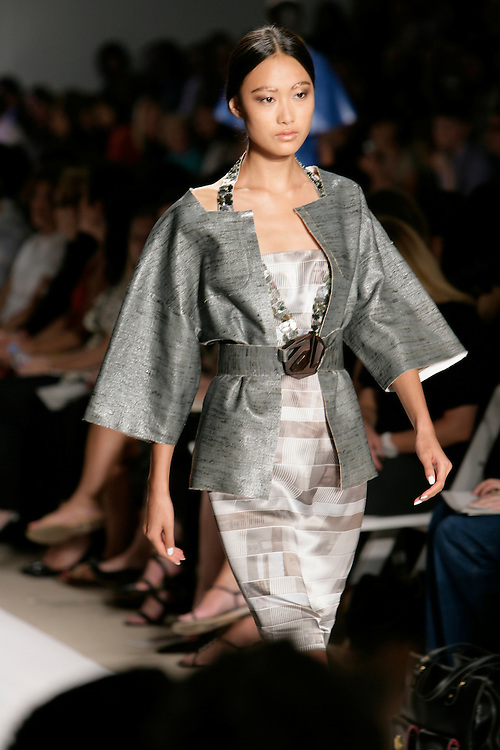 New Chinese Model, Qin Shupei with Next Model Management<br /> She appeared in Mercedes-Benz Fashion Week in New York, NY<br /> Sept, 2008