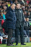 DEVENTER - 13-01-2017, Go Ahead Eagles - AZ,  Stadion Adelaarshorst, 1-3, AZ trainer John van den Brom