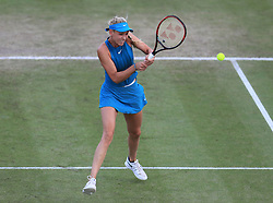 Donna Vekic during her semi final match with Johanna Konta during day six of the Nature Valley Open at Nottingham Tennis Centre.