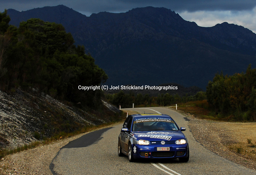 #931 - Alastair Walker & Martine Walker - 2003 Volkswagen MKIV R32.Day 4.Targa Tasmania 2010.1st of May 2010.(C) Joel Strickland Photographics.Use information: This image is intended for Editorial use only (e.g. news or commentary, print or electronic). Any commercial or promotional use requires additional clearance.