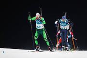 PYEONGCHANG-GUN, SOUTH KOREA - FEBRUARY 12: Sergey Bocharnikov of Belarus during the Mens Biathlon 12.5km Pursuit at Alpensia Biathlon Centre on February 12, 2018 in Pyeongchang-gun, South Korea. Photo by Nils Petter Nilsson/Ombrello               ***BETALBILD***