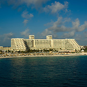 Cancun hotel zone. Quintana Roo, Mexico.
