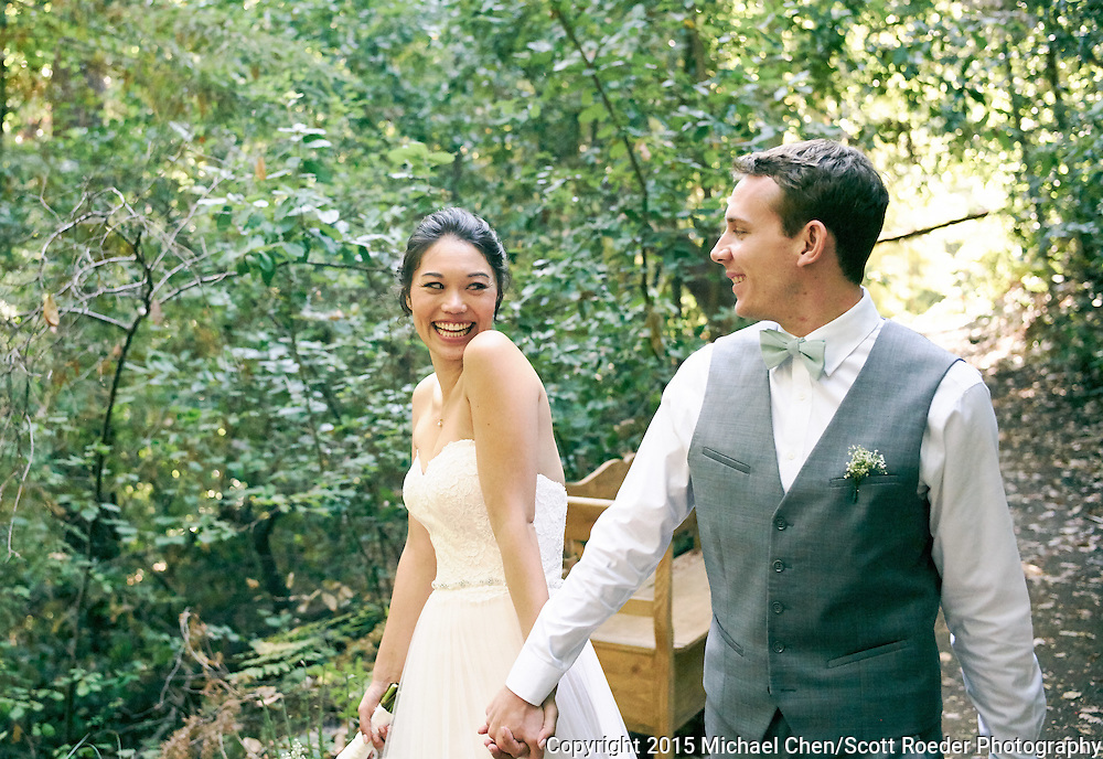 2015/08/22 -- Rachel &amp; Nick -- Rachel &amp; Nick Wedding at The Sequoia Retreat in Ben Lomond, Calif.<br /> <br /> Photo by Michael Chen/Scott Roeder Photography