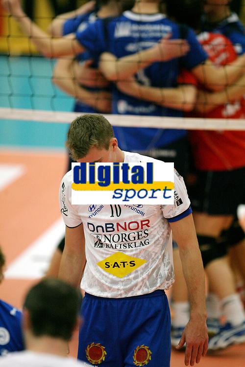 Volleyball , 6. janaur 2007 , NM-finale , F&oslash;rde - Troms&oslash; ,<br /> En oppgitt Terje &Oslash;verg&aring;rd , Troms&oslash;