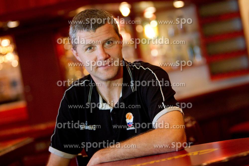 Walter Jeklin of KZS at press conference of Slovenia basketball team at 2010 FIBA World Championships on September 6, 2010 at Polat Renaissance Hotel in Istanbul, Turkey. (Photo By Vid Ponikvar / Sportida.com)
