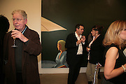 LEN MCCOMB, Mark Hix and Tracey Emin, Alex Katz 'One Flight Up' at the new Timothy Taylor Gallery , 15 Carlos Place. London. 11 October 2007. -DO NOT ARCHIVE-© Copyright Photograph by Dafydd Jones. 248 Clapham Rd. London SW9 0PZ. Tel 0207 820 0771. www.dafjones.com.