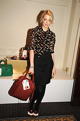 LAUREN LAVERNE at the In Style Handbag Auction is association with Revlon raising money for the Rainbow Trust children's charity held at the Berkeley Hotel, Knightsbridge, London on 4th November 2008.