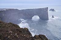 Dyrhólaey Arch, South Iceland.