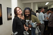 FRANCESCA VERONESI; YOMI,  NEW PHOTOGRAPHS | OUTSIDE/INSIDE | Philip Volkers and Debbie Castro. Private View, Bermondsey Project Space, Bermondsey St. London.