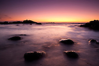 Asilomar State Beach Sunset, Pacific Grove, California