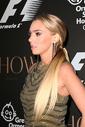 Petra Stunt, F1 Party in aid of Great Ormond Street Hospital Children's Charity, Victoria and Albert Museum, London UK, 02 July 2014, Photo by Richard Goldschmidt © Licensed to London News Pictures. 03/07/2014
