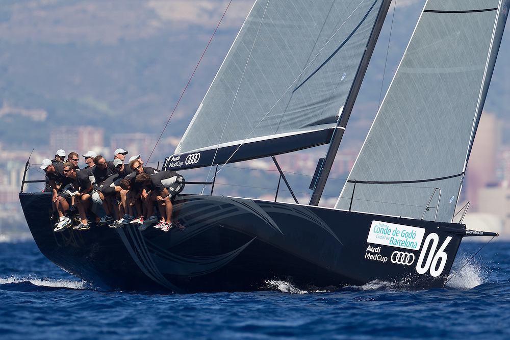 SPAIN, Barcelona. 16th September 2011. AUDI MedCup, Conde de Godo Barcelona Trophy. TP52, RAN.