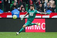 Benoit COSTIL - 12.04.2015 - Rennes / Guingamp - 32eme journee de Ligue 1 <br /> Photo : Vincent Michel / Icon Sport