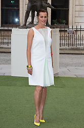 Image ©Licensed to i-Images Picture Agency. 04/06/2014. London, United Kingdom. Royal Academy Summer Exhibition Preview Party. Yasmin Le Bon arrives to the Summer Exhibition Preview Party at the Royal Academy of Arts. Picture by Daniel Leal-Olivas / i-Images