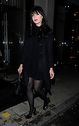 Daisy Lowe attends Prada The Iconoclasts in London, UK. 20/02/2015<br />BYLINE MUST READ : GOTCHAIMAGES.COM<br /><br />Copyright by © Gotcha Images Ltd. All rights reserved.<br />Usage of this image is conditional upon the acceptance <br />of Gotcha Images Ltd, terms and conditions available at<br />www.gotchaimages.com