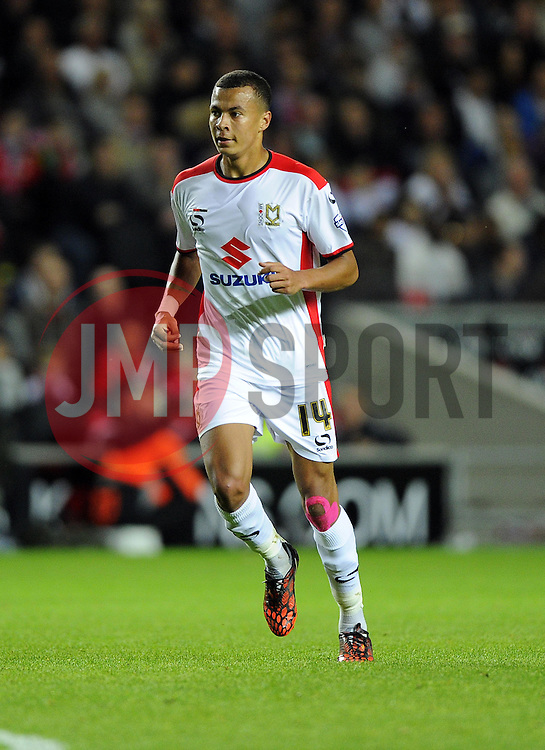Milton Keynes Dons' Dele Alli - Photo mandatory by-line: Joe Meredith/JMP - Mobile: 07966 386802 26/08/2014 - SPORT - FOOTBALL - Milton Keynes - Stadium MK - Milton Keynes Dons v Manchester United - Capital One Cup