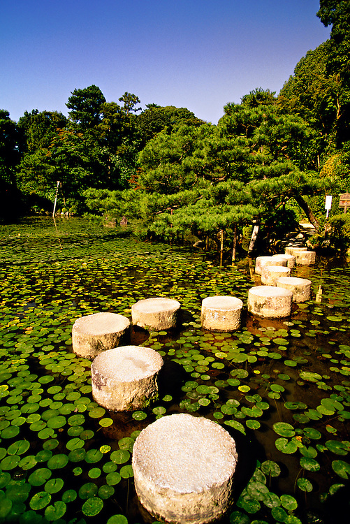Shrine Garden, Heian-Jingu (shrine), Kyoto, Japan