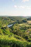 Neckarschleife bei Neckargerach, Baden-Württemberg, Deutschland | Neckar loop at Neckargerach, Baden-Württemberg, Germany