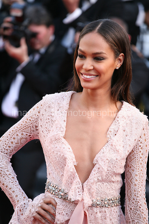 Joan Smalls at the 'Behind The Candelabra' gala screening at the Cannes Film Festival  Tuesday 21 May 2013