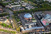 Nederland, Noord-Brabant, Breda, 09-05-2013; Koepelgevangenis. Pi Breda: Locatie de Boschpoort. <br /> Naast de gevangenis het Chasseveld.<br /> Domed prison of Breda. <br /> luchtfoto (toeslag op standard tarieven);<br /> aerial photo (additional fee required);<br /> copyright foto/photo Siebe Swart.