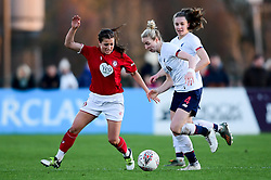 Megan Wynne of Bristol City Women marks l4, - Mandatory by-line: Ryan Hiscott/JMP - 19/01/2020 - FOOTBALL - Stoke Gifford Stadium - Bristol, England - Bristol City Women v Liverpool Women - Barclays FA Women's Super League