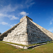 El Castillo (also known as Temple of Kuklcan) at the ancient Mayan ruins at Chichen Itza, Yucatan, Mexico. 081216092810_1931x.tif