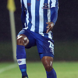 PIETERMARITZBURG, SOUTH AFRICA - MARCH 19: Kurt Lentjies of Maritzburg Utd during the Absa Premiership match between Maritzburg United and Bloemfontein Celtic at Harry Gwala Stadium on March 19, 2014 in Pietermaritzburg, South Africa. (Photo by Steve Haag/Gallo Images)