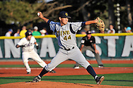 MANHATTAN, KS - APRIL 22:  Starting pitcher Matt Dufour of the UC Irvine Anteaters pitched 4.2 innings of hitless baseball against the Kansas State Wildcats on April 22, 2008 at Tointon Stadium in Manhattan, Kansas.  UC Irvine defeated Kansas State 4-3.  (Photo by Peter Aiken/Getty Images)
