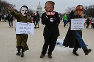 Women,men and children from the US and abroad, took part in a Women's March in Washington DC. Fear and anger, a day after Trump's inauguration led to the historic turnout.