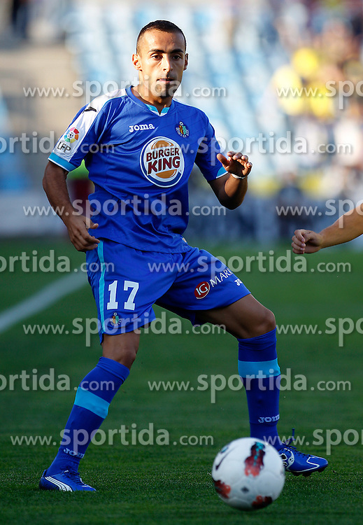 15.10.2011, Coliseum Alfonso Perez, Getafe, ESP, Primera Division, FC Getafe vs FC Villarreal, im Bild Getafe's Diego Castro // during Primera Division football match between FC Getafe and FC Villarreal at Coliseum Alfonso Perez, Getafe, Spain on 15/10/2011. EXPA Pictures © 2011, PhotoCredit: EXPA/ Alterphoto/ Acero +++++ ATTENTION - OUT OF SPAIN/(ESP) +++++