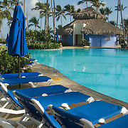 Hotel pool at the Grand Paradise Resort in Punta Cana