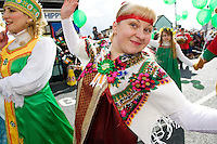 Participants in Galway St Patrick's day parade. Photo:Andrew Downes Photography.