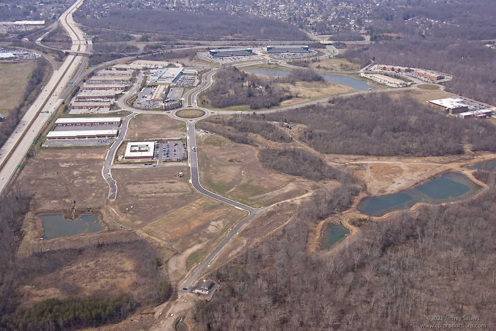 Melford at Bowie office park aerial photography by Jeffrey Sauers of Commercial Photographics