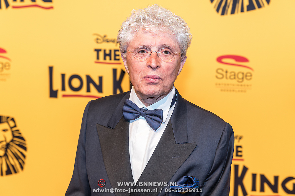 NLD/Scheveningen/20161030 - Premiere musical The Lion King, Jacques d' Ancona