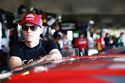 June 2, 2017 - Dover, DE, United States of America - June 02, 2017 - Dover, DE, USA: Ryan Reed (16) hangs out in the garage prior to practice for the Delaware 200 at Dover International Speedway in Dover, DE. (Credit Image: © Justin R. Noe Asp Inc/ASP via ZUMA Wire)