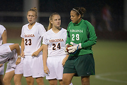 The Virginia Cavaliers hosted the Colorado  Buffalos in the first game of the 2007 Nike Soccer Classic held at Klockner Stadium in Charlottesville, VA on August 14, 2007.