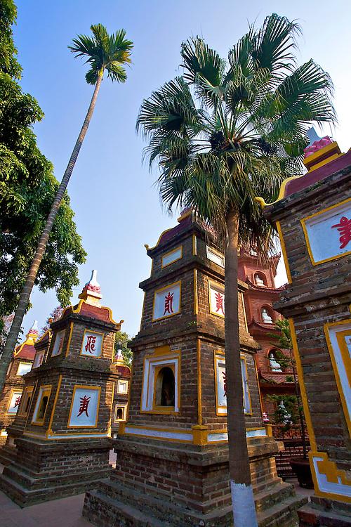 Tran Quoc Pagoda, Hanoi, Vietnam.