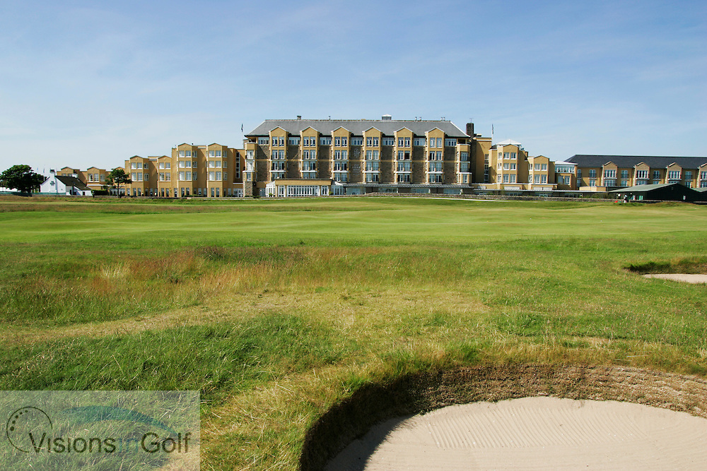 St. Andrews Old Course Hotel, 2nd and 17th fairways, Scotland Uk, <br /> Photo Mark Newcombe / visionsingolf.com