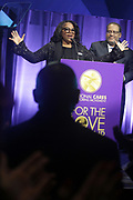 NEW YORK, NEW YORK- FEBRUARY 11: LaTanya Richardson Jackson (Honoree) and Dr. Michael Eric Dyson (Host) attend the National CARES Mentoring Movement 'FOR THE LOVE OF OUR CHILDREN' Gala Inside held at the Zeigfeld Ballroom on February 11, 2019 in New York City.  (Photo by Terrence Jennings/terrencejennings.com)