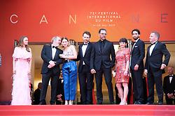 May 22, 2019 - Cannes, Provence-Alpes-Cote d'Azu, France - 72eme Festival International du Film de Cannes. Montée des marches du film ''Roubaix, une lumiere (Oh Mercy!)''. 72th International Cannes Film Festival. Red Carpet for ''Roubaix, une lumiere (Oh Merci!)'' movie.....239726 2019-05-22 Provence-Alpes-Cote d'Azur Cannes France.. Zem, Roschdy; Desplechin, Arnaud; Forestier, Sara; Seydoux, Léa; Reinartz, Antoine (Credit Image: © Philippe Farjon/Starface via ZUMA Press)