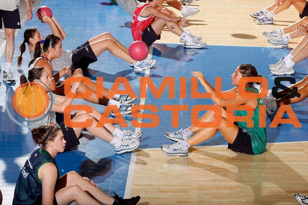 DESCRIZIONE : Bormio Raduno Nazionale Italiana Femminile<br /> GIOCATORE : Licia Corradini Benedetta Bagnara<br /> SQUADRA : Nazionale Italia Donne<br /> EVENTO : Raduno Nazionale Italiana Femminile<br /> GARA : <br /> DATA : 11/07/2008 <br /> CATEGORIA : Riscaldamento Atletica<br /> SPORT : Pallacanestro <br /> AUTORE : Agenzia Ciamillo-Castoria/G.Cottini<br /> Galleria : Fip Nazionali 2008<br /> Fotonotizia : Bormio Raduno Nazionale Italia Donne<br /> Predefinita :