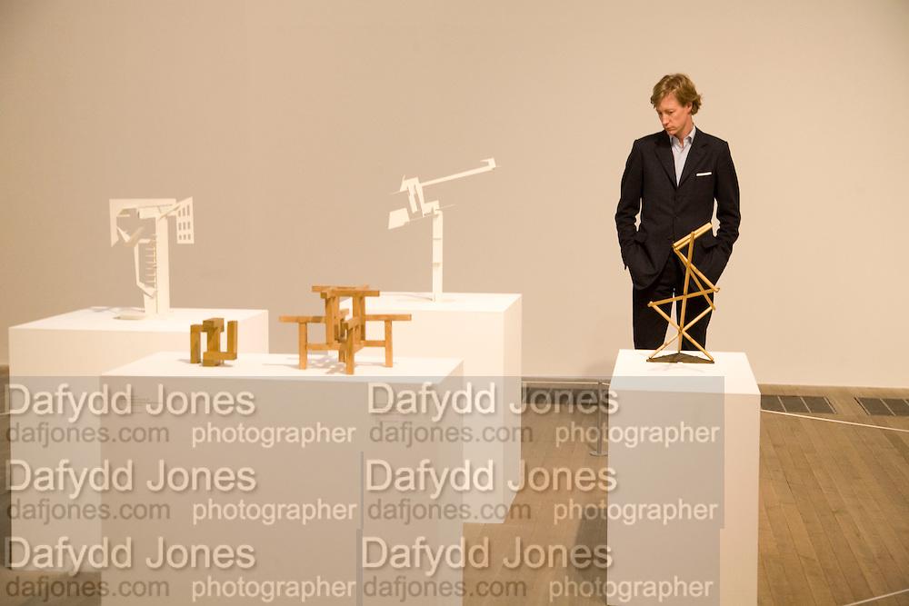 JAMES HOLLAND-HIBBERT, Rodchenko and Popova: Defining Constructivism. Tate Modern. London. 10 February 2009 *** Local Caption *** -DO NOT ARCHIVE -Copyright Photograph by Dafydd Jones. 248 Clapham Rd. London SW9 0PZ. Tel 0207 820 0771. www.dafjones.com<br /> JAMES HOLLAND-HIBBERT, Rodchenko and Popova: Defining Constructivism. Tate Modern. London. 10 February 2009
