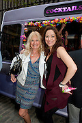DEBBIE MOORE; DEE MURRAY, Dirty Pretty Things - summer party. Lingerie line hosts  party celebrating its new online shop and showcasing the latest collection. The Lingerie Collective, 8 Ganton Street, Soho. London, 15 June 2011<br /> <br />  , -DO NOT ARCHIVE-© Copyright Photograph by Dafydd Jones. 248 Clapham Rd. London SW9 0PZ. Tel 0207 820 0771. www.dafjones.com.