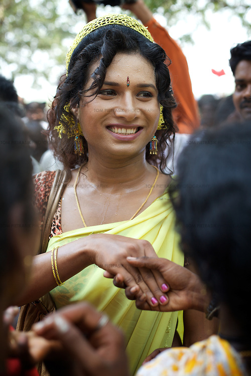 Transexual, Transgenders And Aravani Gay Men In Tamil Nadu -6453