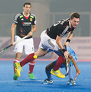 BHUBANESWAR  (INDIA)  - HERO Champions Trophy Hockey men. Day 1. Germany vs India.  Christopher Wesley of Germany.  PHOTO  KOEN SUYK