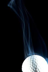 Golf Ball smoking