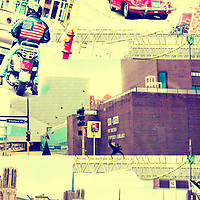 Photo Montage of the Lowry Hill District in Minneapolis, Minnesota